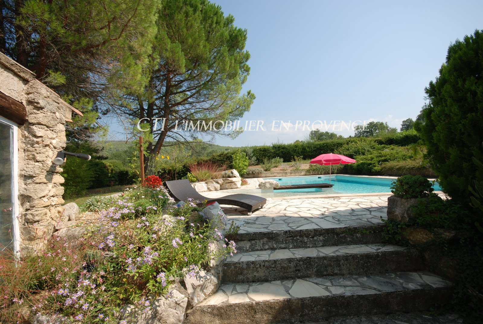 0 www.cti-provence.net, vente  5 mn de Vaison, mas des oliviers restauré avec terrain clos, p