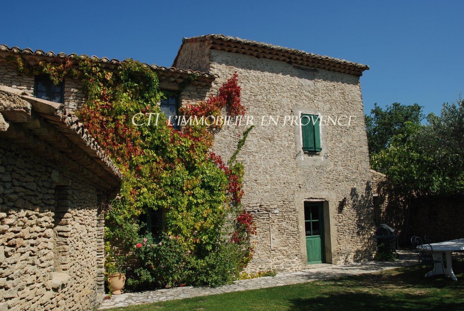 0 www.cti-provence.net, vente, mazet dans les oliviers, position dominante, vue Ventoux, piscine.