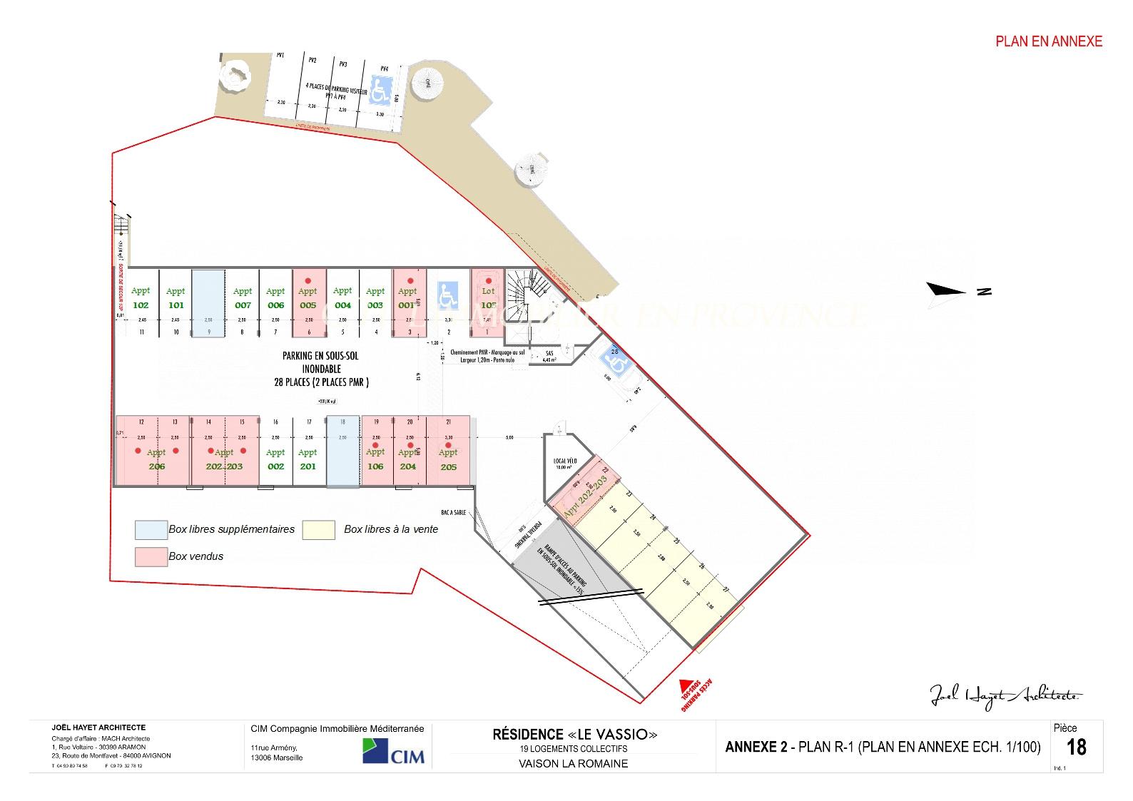 www.cti-provence.net PROGRAMME NEUF APPARTEMENT DE STANDING T3 VAISON LA ROMAINE ASCENSEUR JARDIN