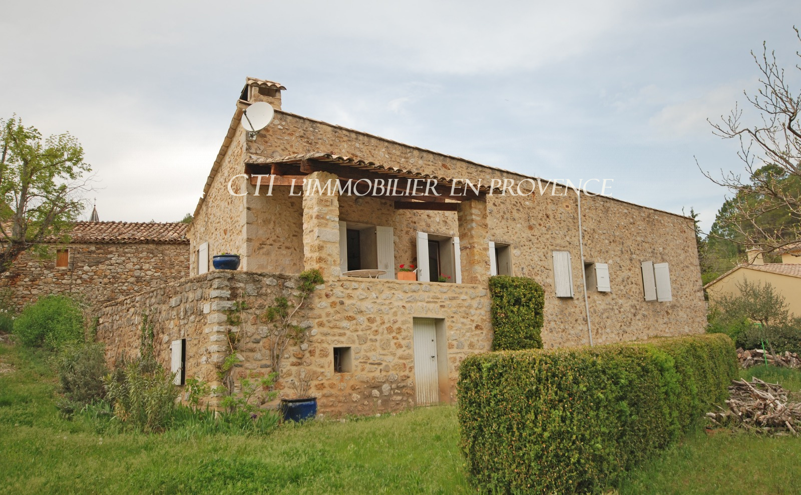 BEAUTIFUL VILLAGE STONE HOUSE FOR SALE