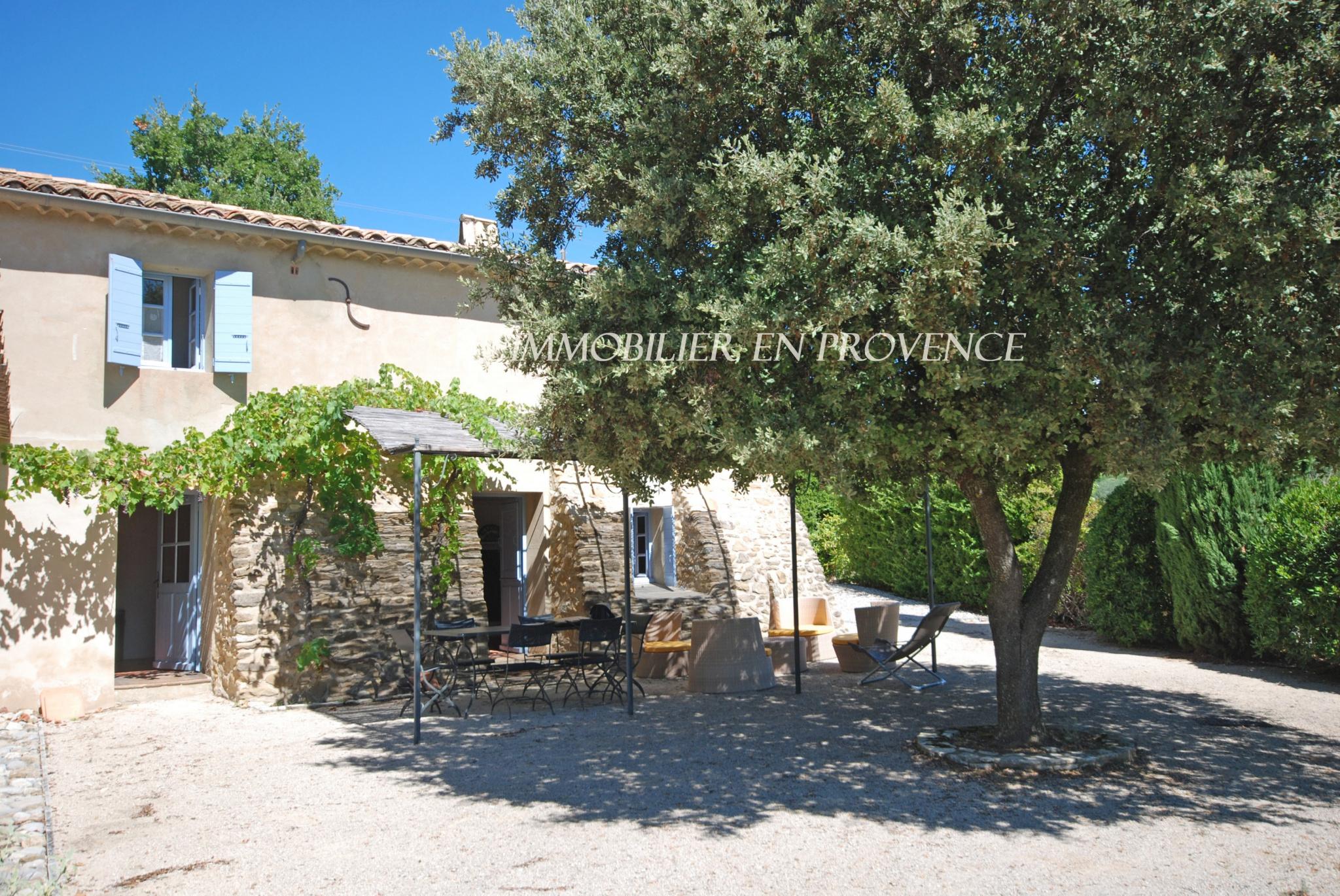 0 www.cti-provence.net, vente mas provençal en position dominante sur Vaison la romaine, pisc