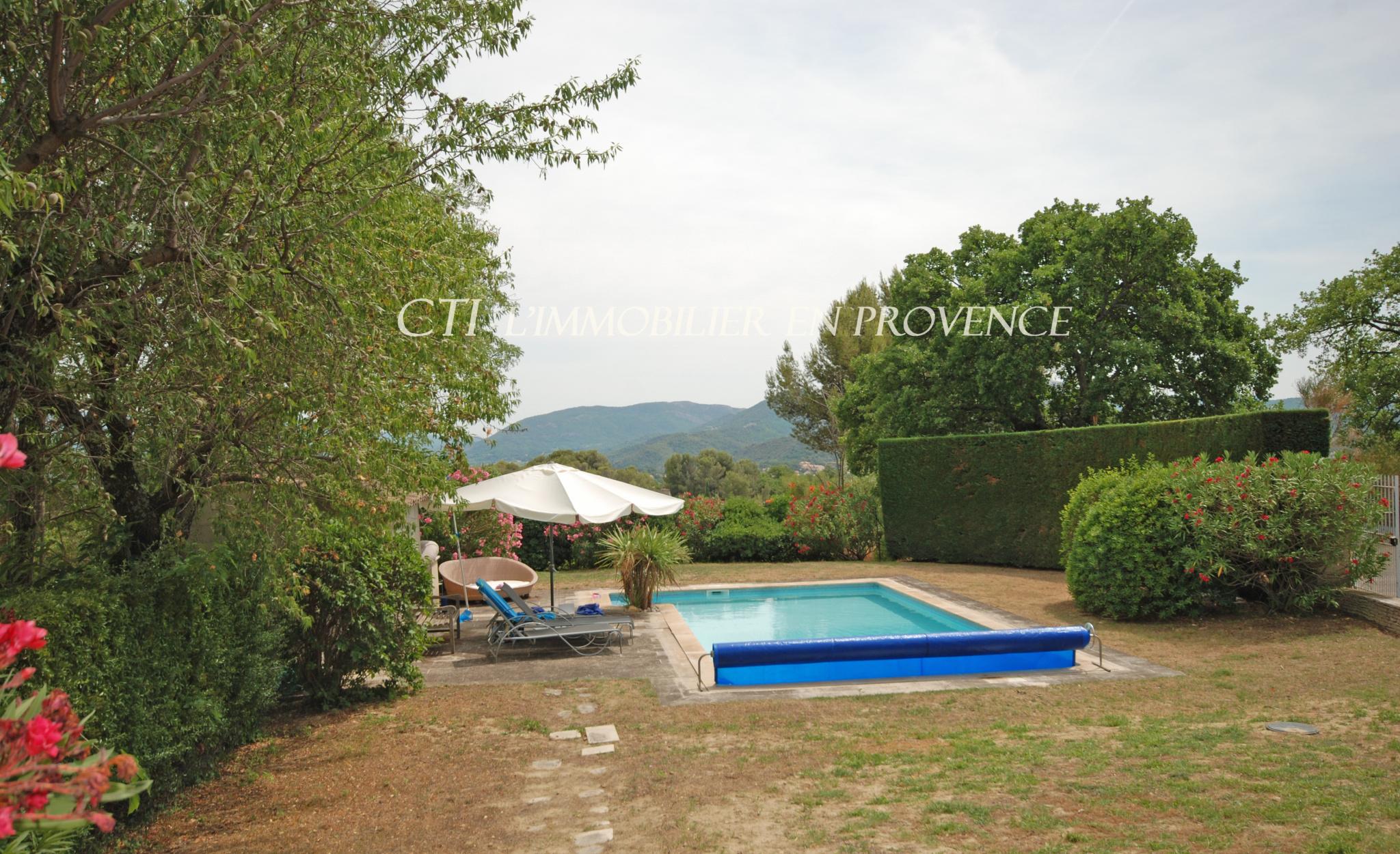0 www.cti-provence.net, vente mas provençal en position dominante sur Vaison la romaine, piscine