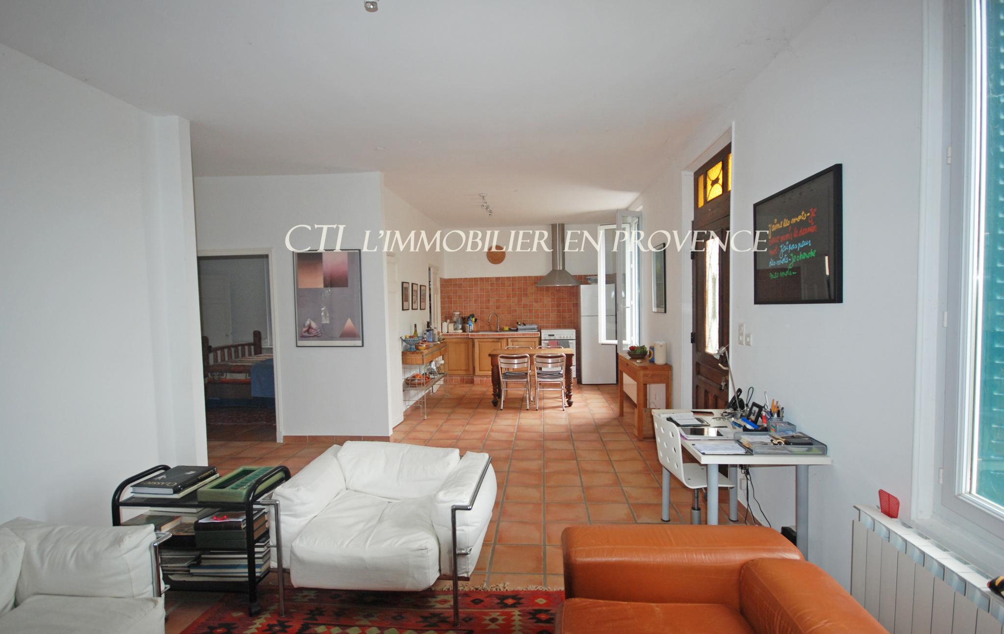 0 www.cti-provence.net  BELLE MAISON ANNEES 30 VUE MONT-VENTOUX DENTELLES - MONTMIRAIL JARDIN CONSTR