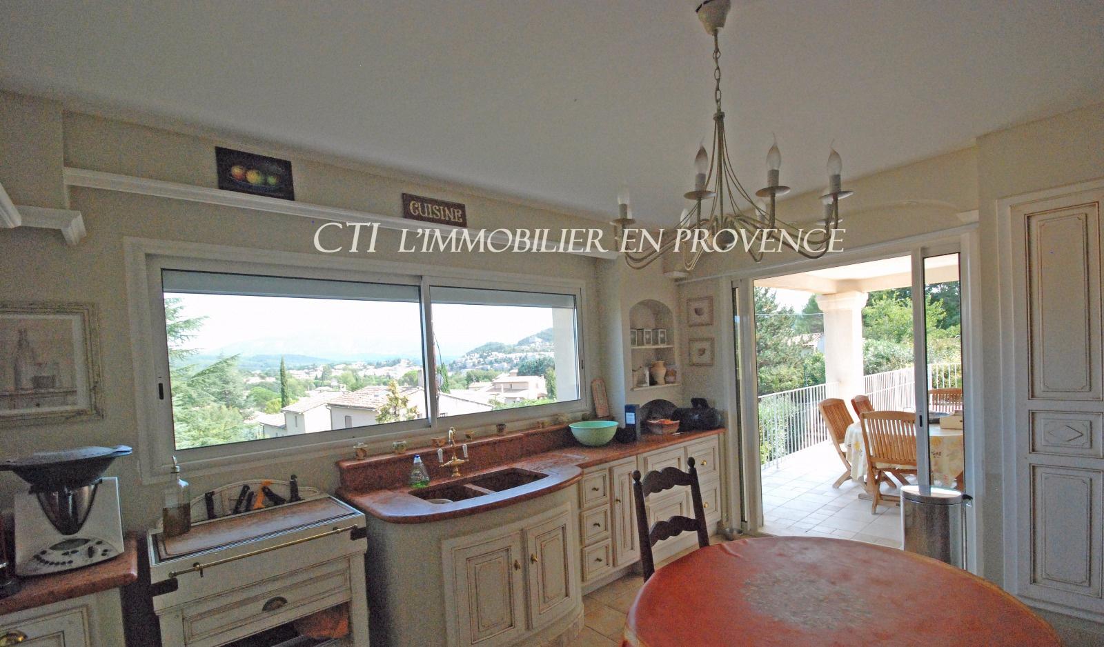 0 www.cti-provence.net MAISON D'ARCHITECTE-VILLA VUE MONT VENTOUX VAISON-LA-ROMAINE JARDIN PISCINE