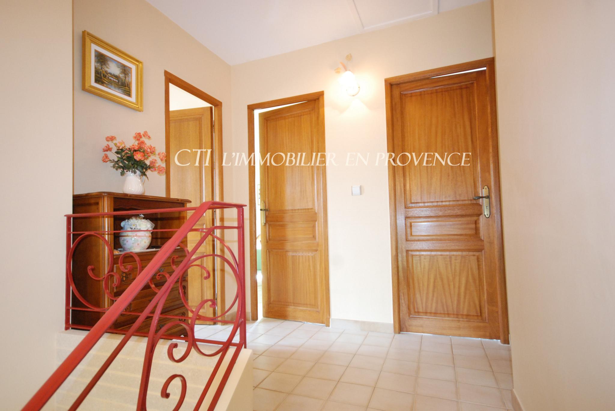 www.cti-provence.net A VENDRE VILLA PROVENÇALE VAISON LA ROMAINE PROCHE CENTRE VILLE JARDIN PISCINE