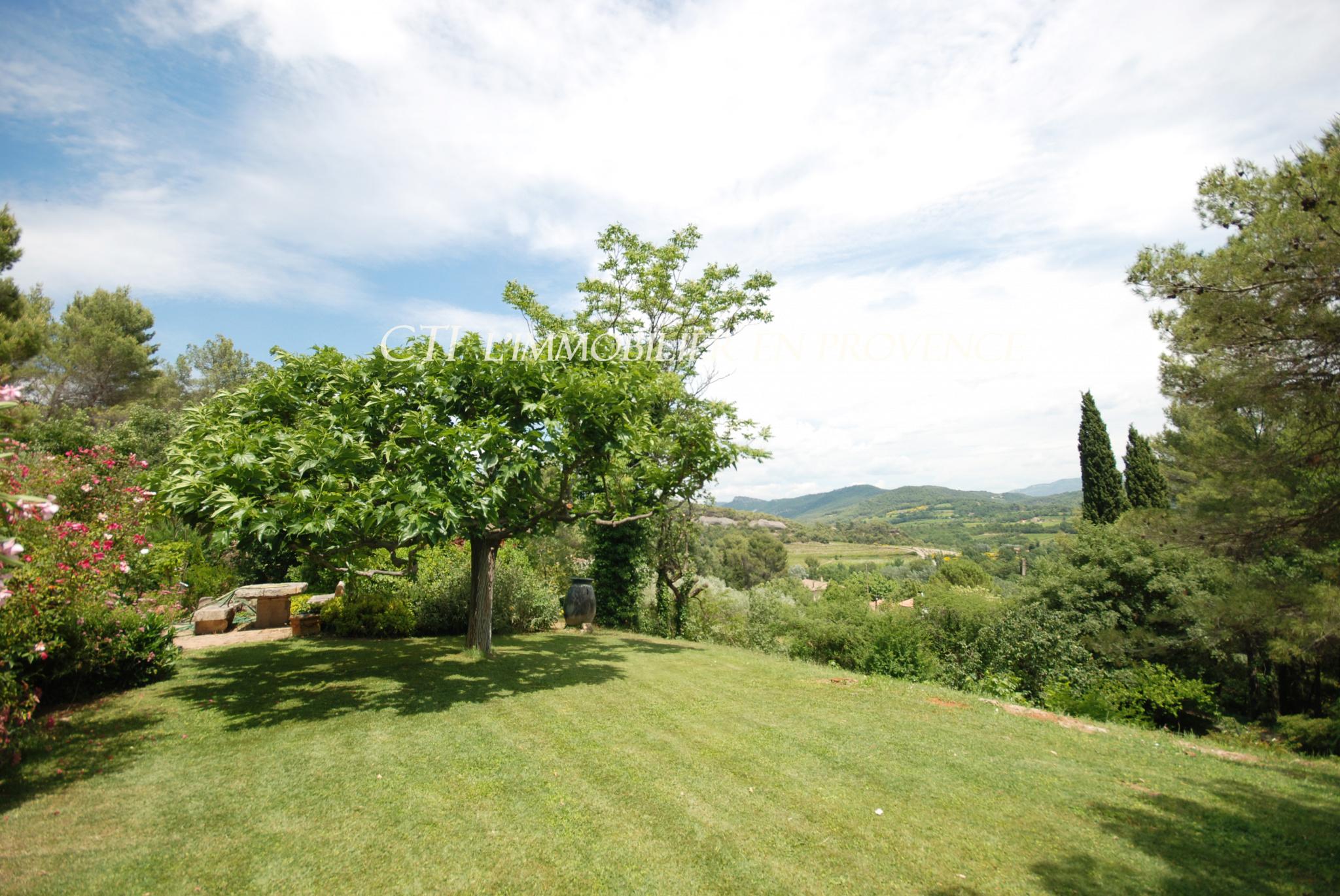 0 www.cti-provence.net, vente propriété en position dominante, de plain pied , 2 HA vue Ventoux