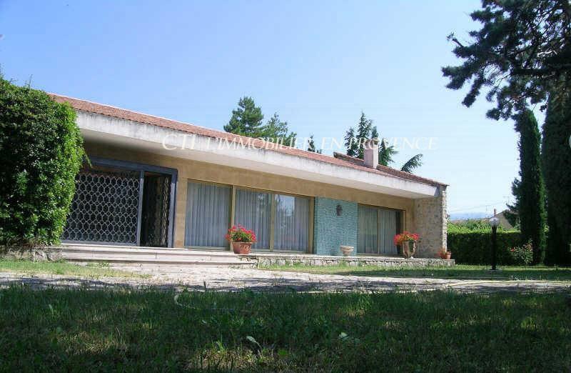 0 www.cti-provence.net vente Valréas, spacieuse maison d'architecte de plain pied avec terrai