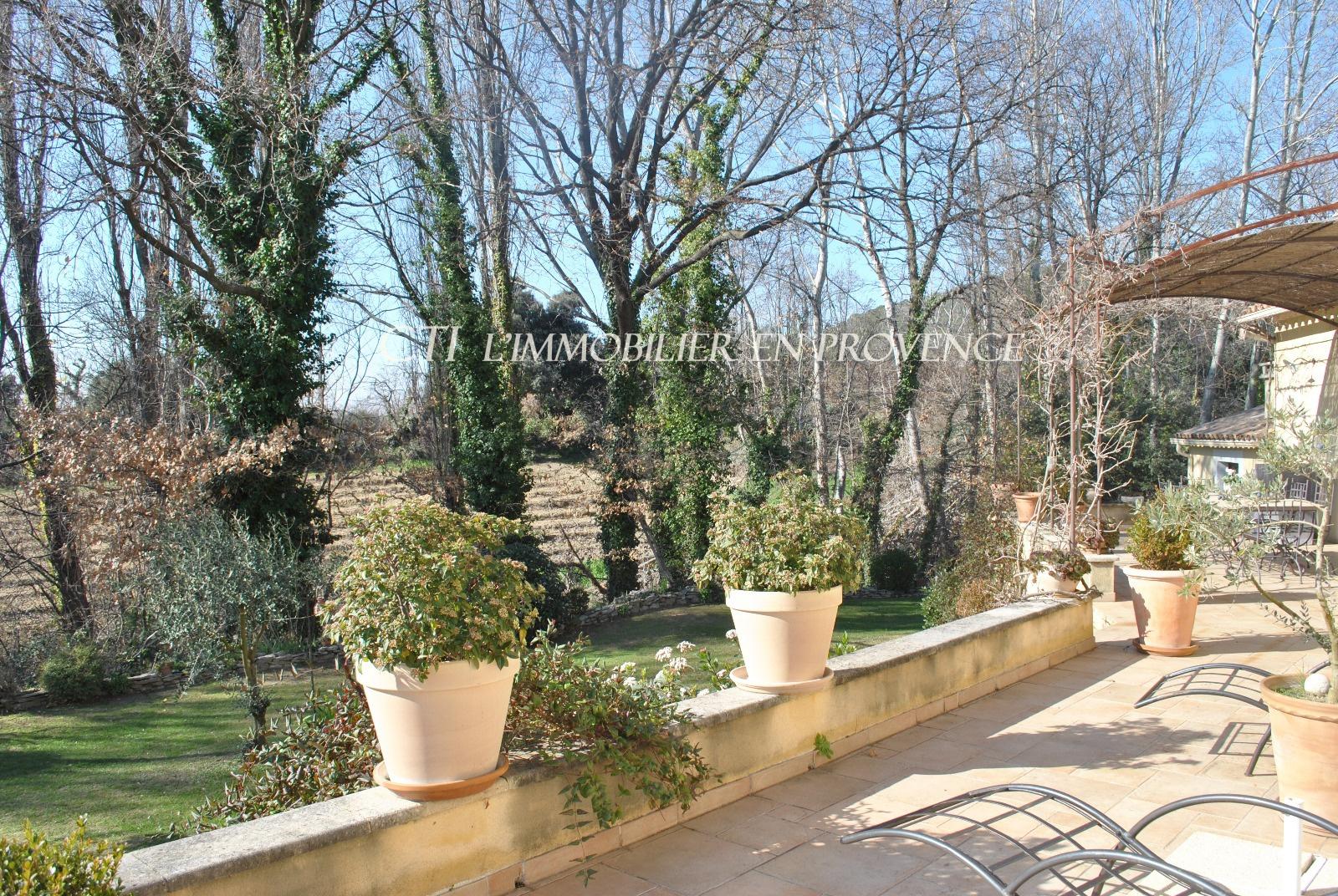 0 www.cti-provence.net, vaison la romaine, villa provençale plain pied   garage, terrain plei