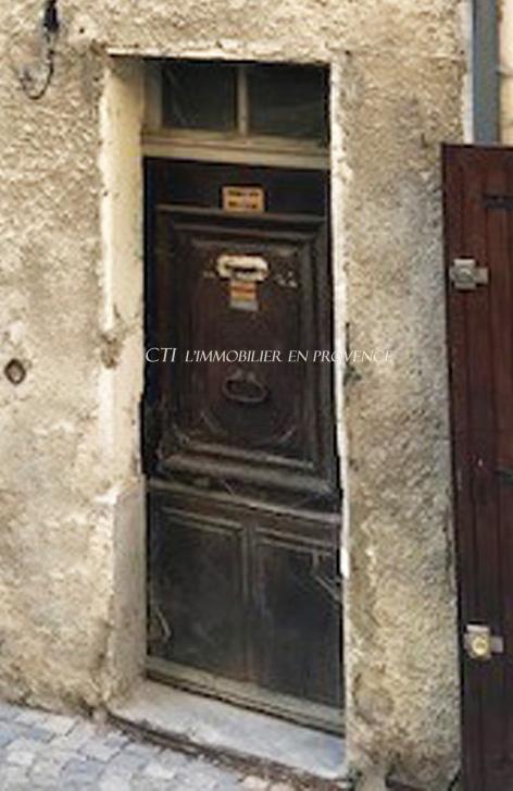0 www.cti-provence.net, vente maison de village à restaurer, beau potentiel, belle surface