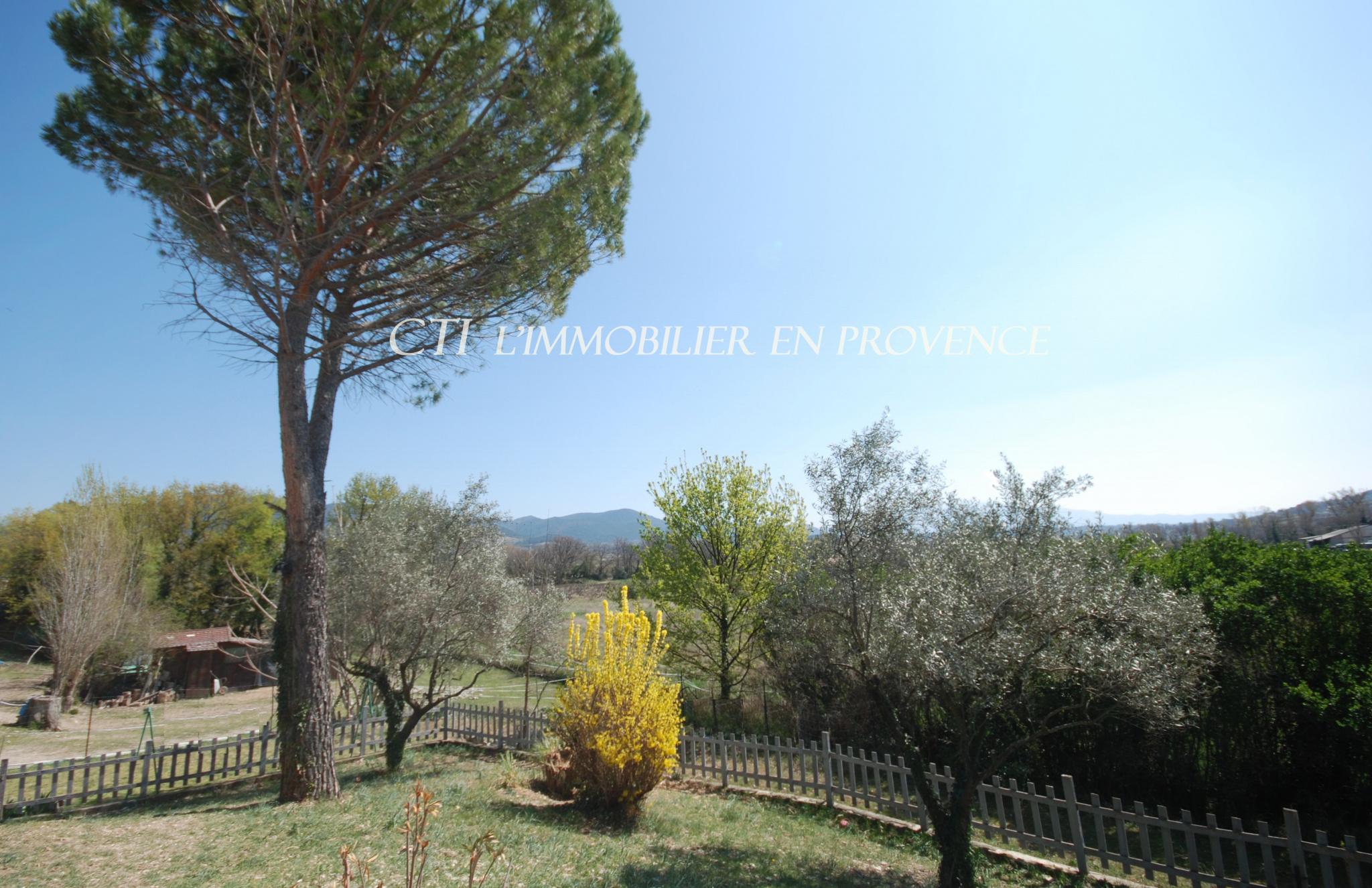 0 www.cti-provence.net MAISON DE CAMPAGNE VUE SUR LE MONT VENTOUX 2 HABITATIONS (GITE-APPARTEMENT)