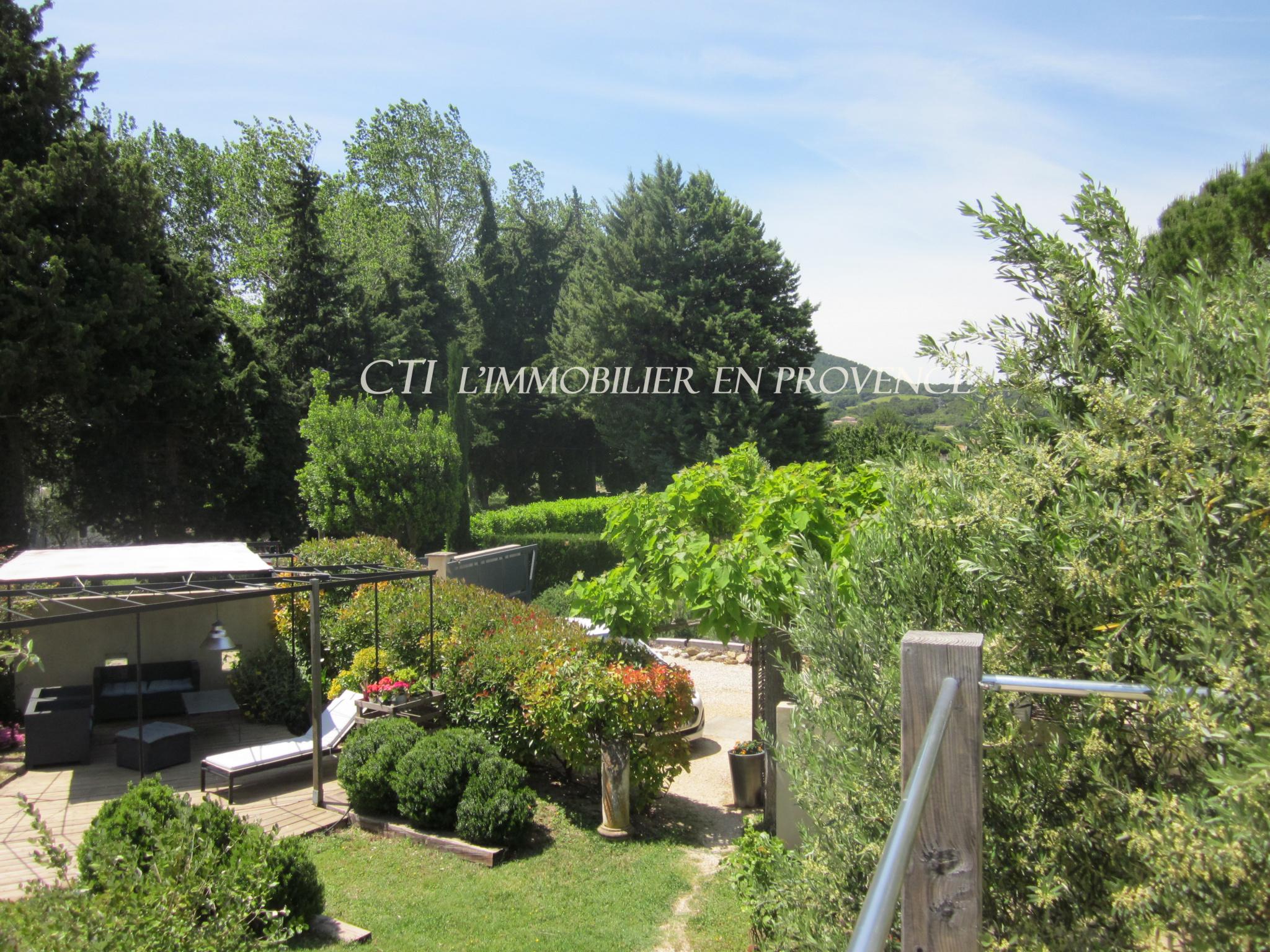 0 A VENDRE www.cti-provence.net MAISON VUE CAMPAGNE  VAISON LA ROMAINE JARDIN GITE CHAMBRE HOTE