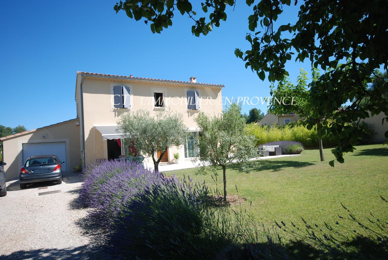 0 www.cti-provence.net, vente villa lumineuse et confortable, vaison la rne , terrain proche centre