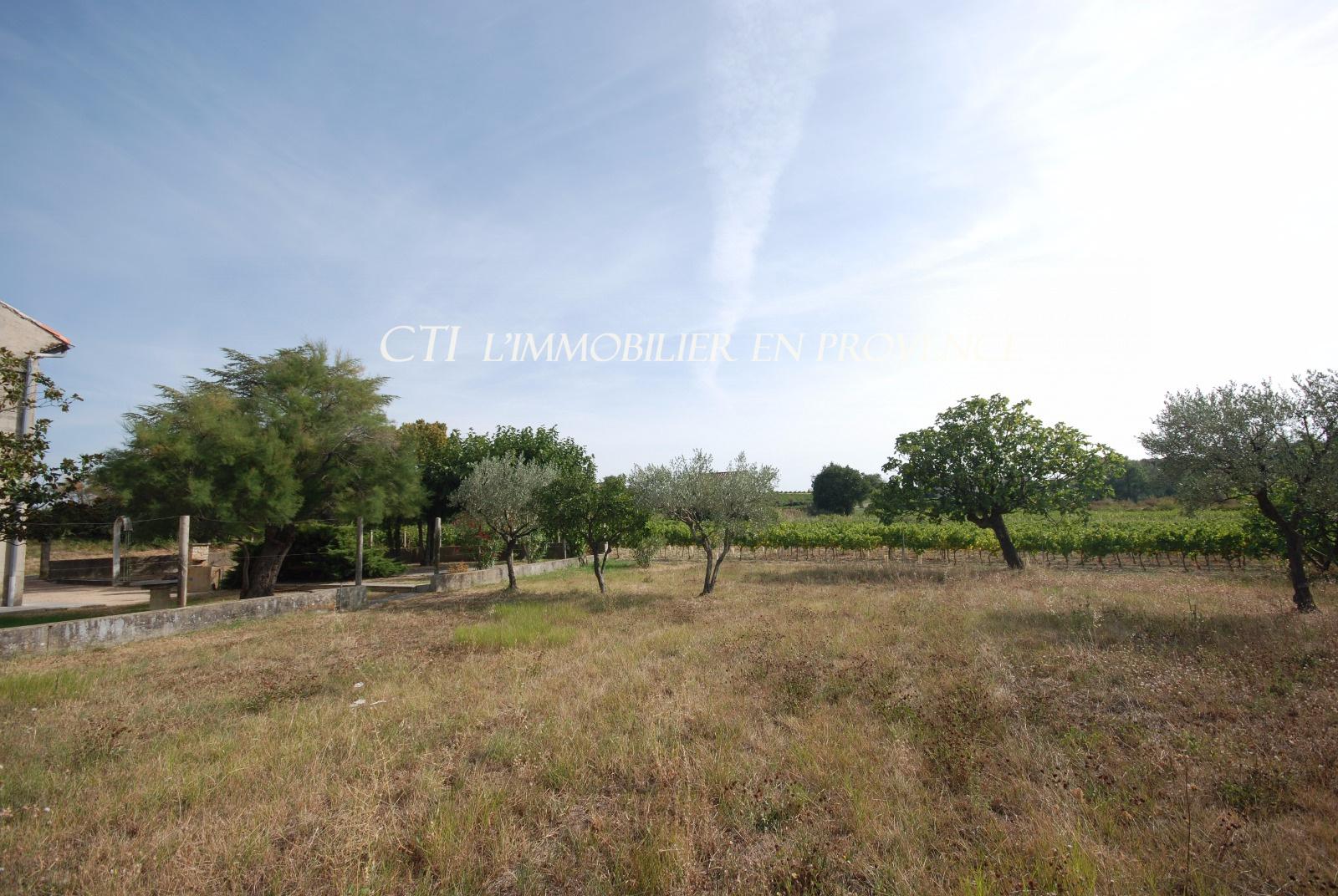 0 www.cti-provence.net, vente maison provençale en Drôme, terrain arboré, proche